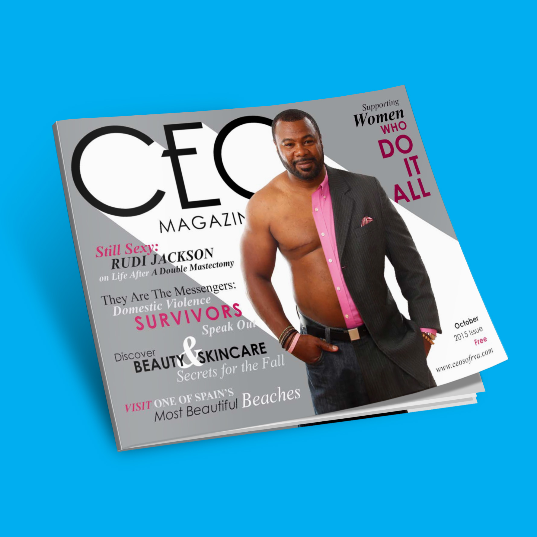ISSUU_online_ceo_magazine_design
